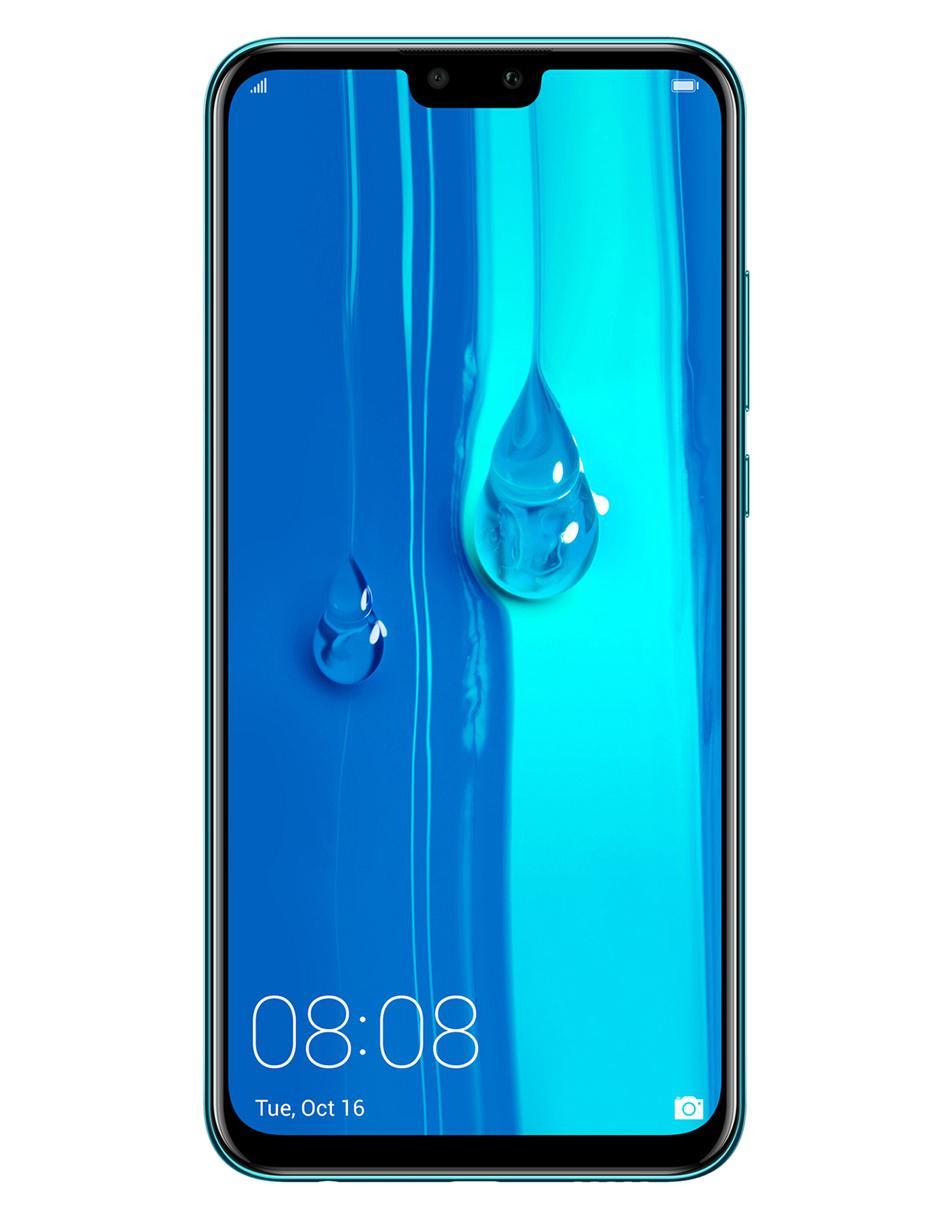 97b9c531cb3 Smartphone Huawei Y9 2019 64 GB azul Telcel Precio Lista