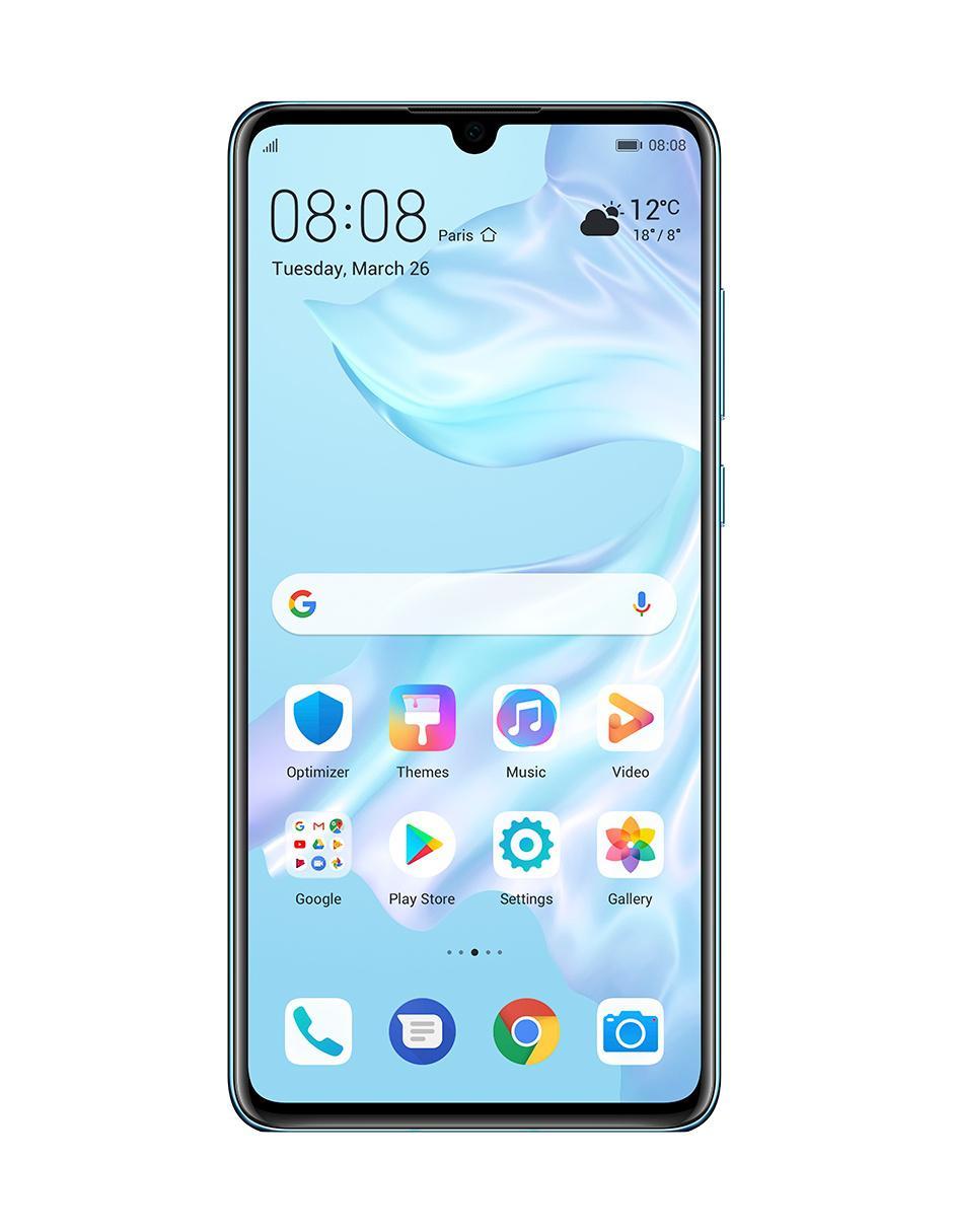 128 At amp;t Smartphone Gb Huawei Azul P30 LqzUVMjSGp