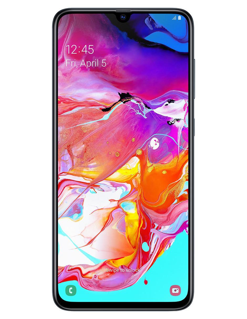 25baf1302e7 Smartphone Samsung Galaxy A70 128 GB negro Telcel Precio Lista