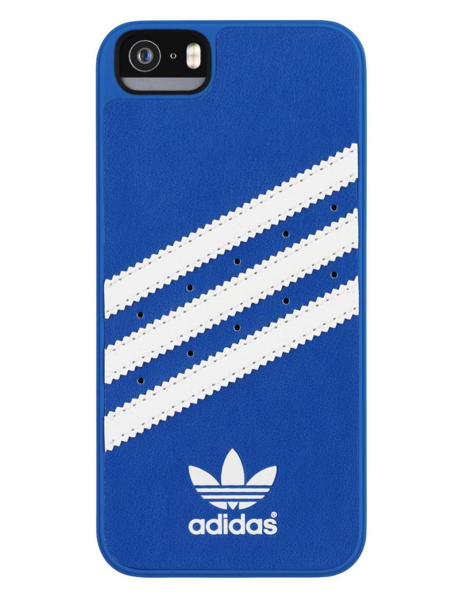 obtener conocido Suri  Funda Adidas Originals Stripes iPhone 5/5s/SE azul en Liverpool